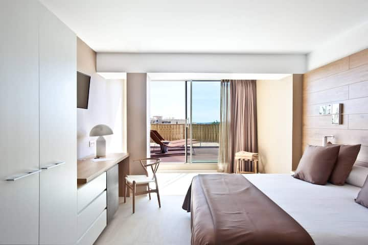Deluxe Double Room with Terrace and breakfast - Hotel OD Port Portals