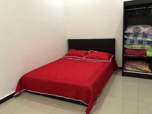 Bilik Tidur Utama Master Bedroom
