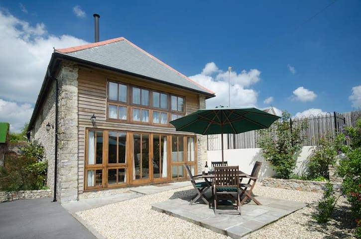 Comfortable barn conversion  on farm in East Devon