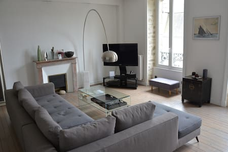 Grand appartement en hyper centre d'Auray - Auray - Apartemen