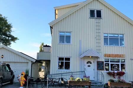 Bodø City centre room (`Solparken`)