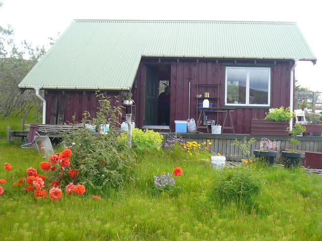 A cottage in county Myrdalur, - Vik - Hus