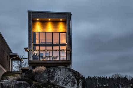 Nivå 84 Loft House with splendid lake view
