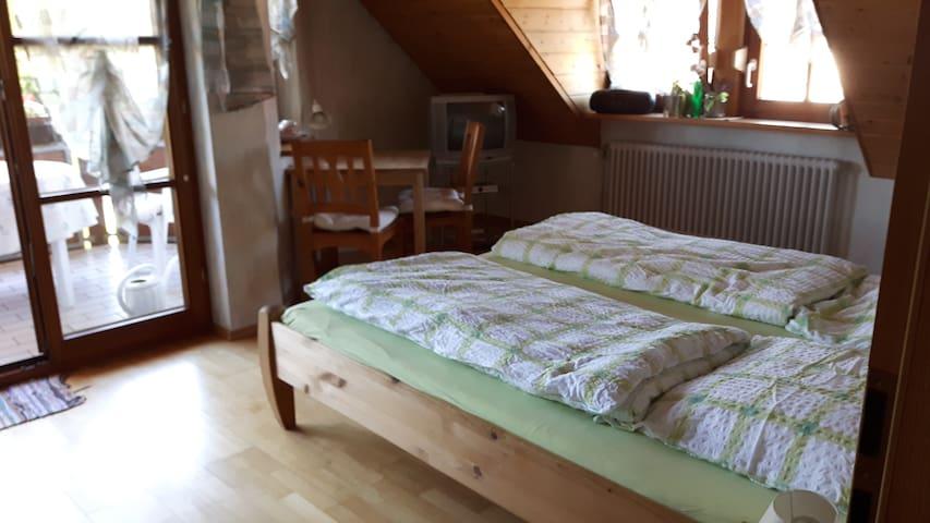 Ruhig und ruhiges Zimmer vor den Toren Freiburgs