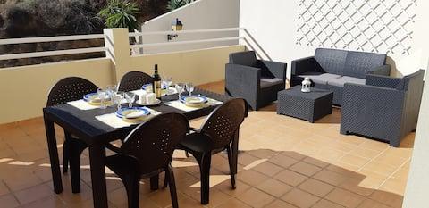 Apartment in Álora (40 km from Malaga)Caminito del Rey