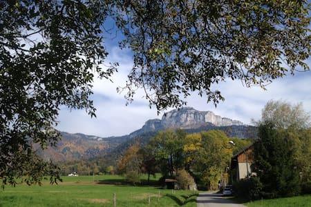 Calme de la montagne à proximité d'Annecy - Villaz - Apartament