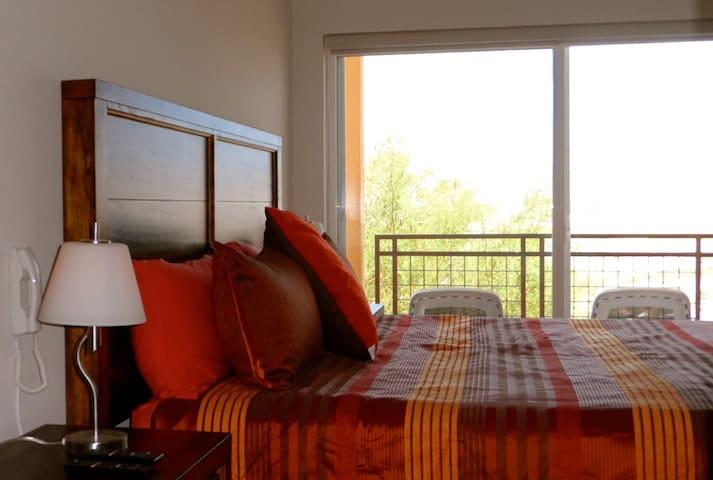 Master Bedroom, King size with large en-suite bathroom