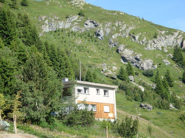 Chalet Panoramica Bellavista Bivio/St Moritz