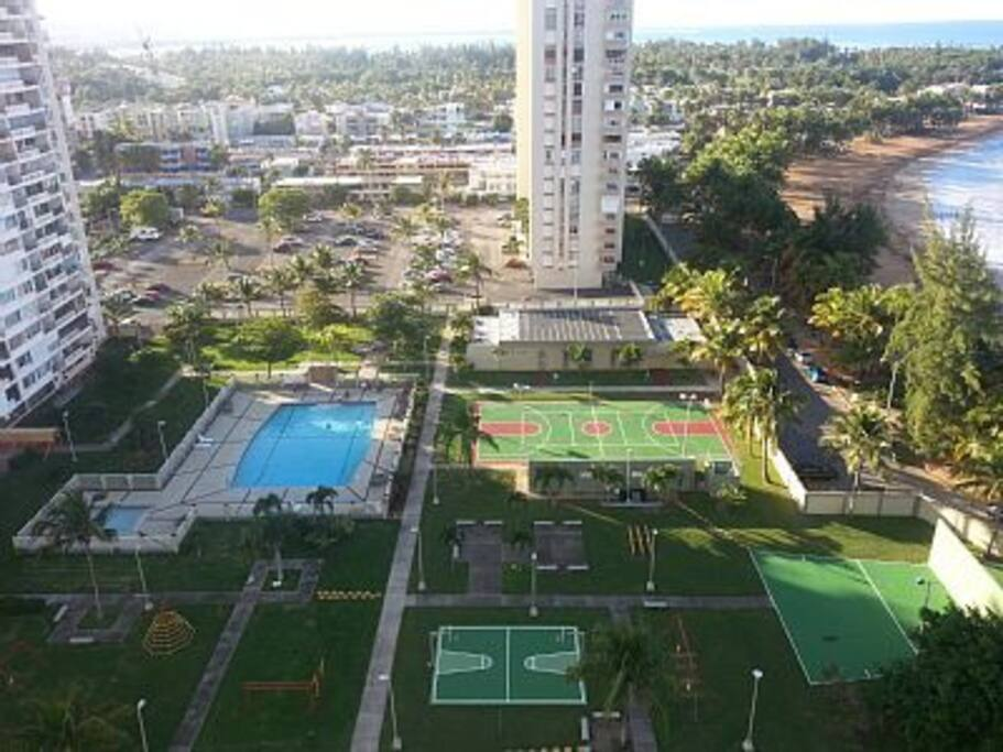 Recreational grounds available