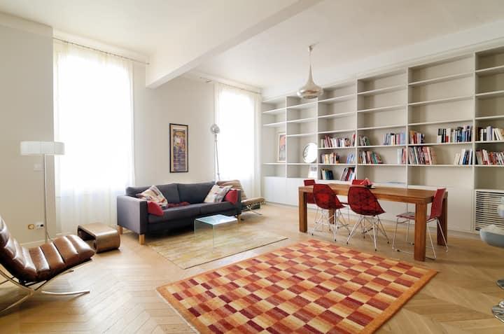 Aix center-Beautiful 3 bedroom flat