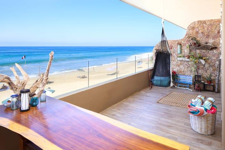Casa Lily beach front san pancho
