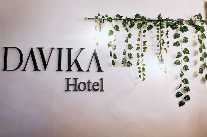 Twin Room at Davika Hotel