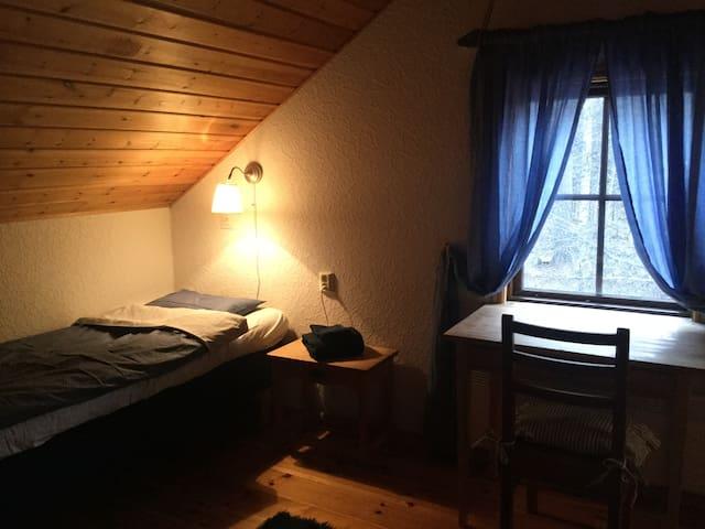 Västra sovrummet