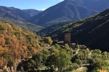 vue d' Evol et sa vallée