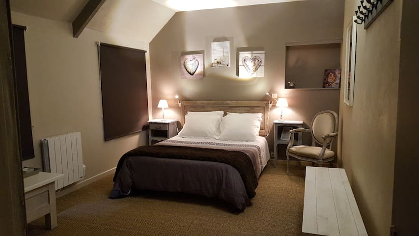 B&B Suite familiale 2 chambres : 2/3/4 pers(taupe)
