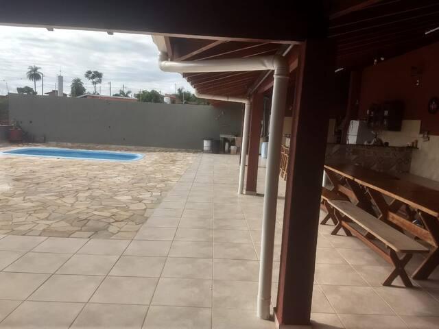 Chacara Roseira Mogi Guacu piscina aquecida
