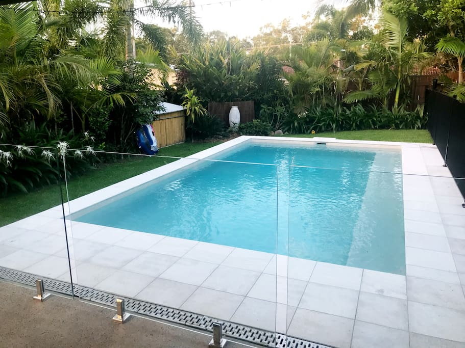 7m x 4m inground pool