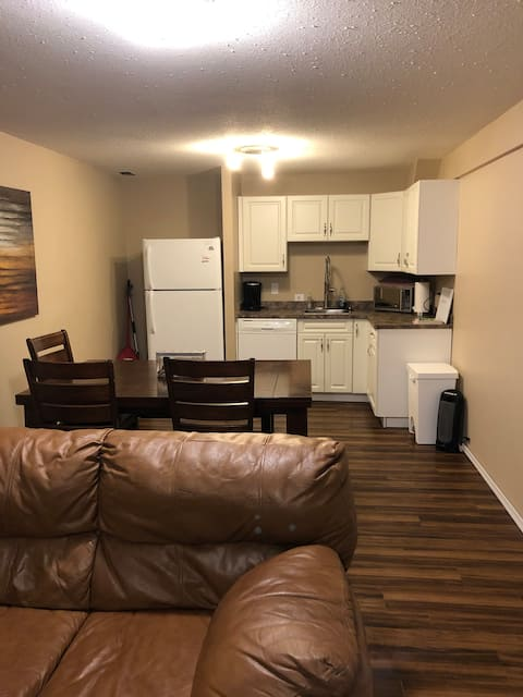 Spacious basement, your home away from home!