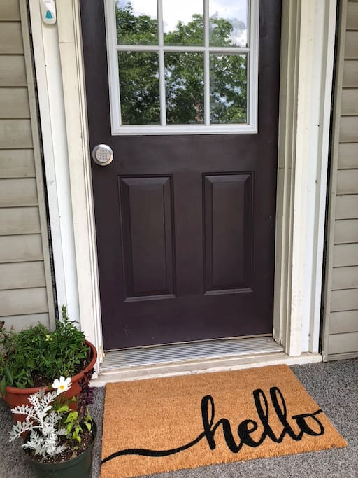 Entry - Door code provided for keyless entry, making check in a breeze!