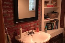 New half bath on the first level