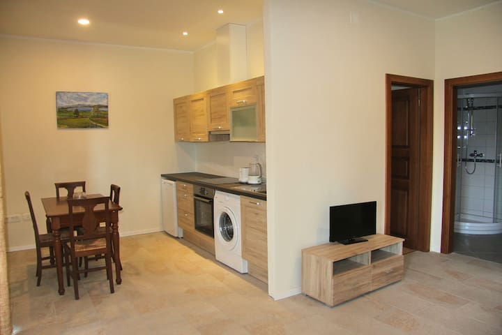 Apartment for 2 - 4 Guests close to the Soča River