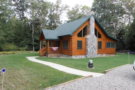 Log Cabin in Wooded NW Pennsylvania