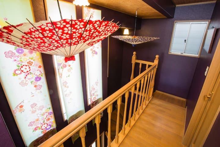 kyoto station Huge machiya house ★fully furnished★