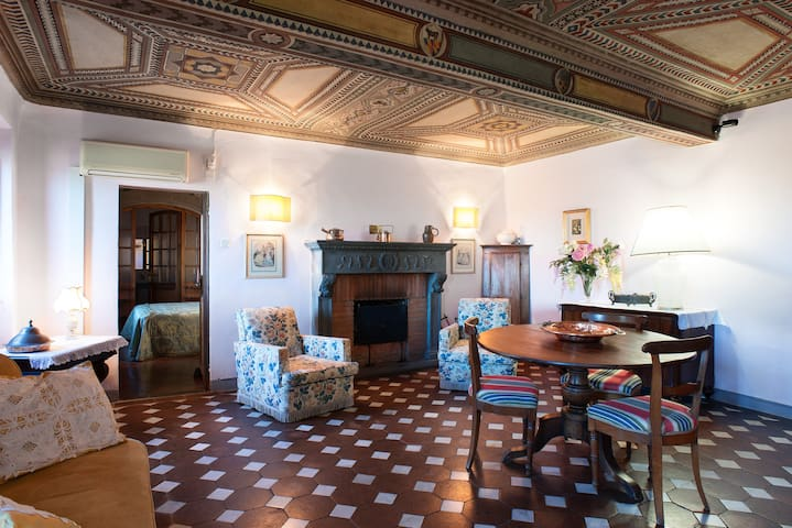 Apartment in castle - Florence, IT - Ferrano - Huvila