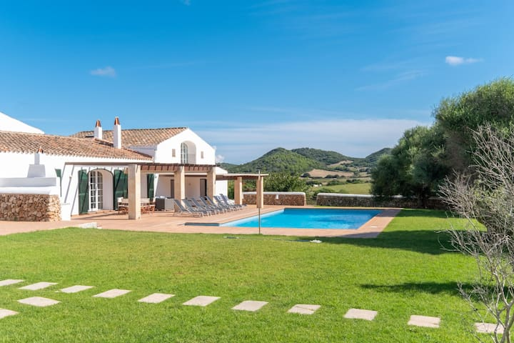 In campagna con piscina - Villa Na Bona