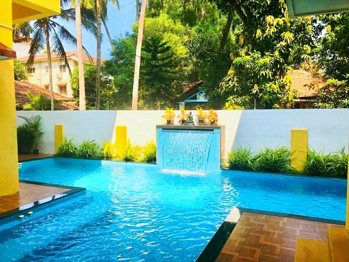 Love Chimes 💕 3BHK Villa Private Jaccuzi Pool