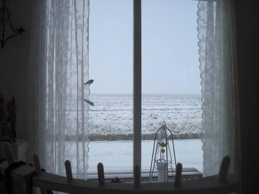 Ook in de winter een schitterend uitzicht!