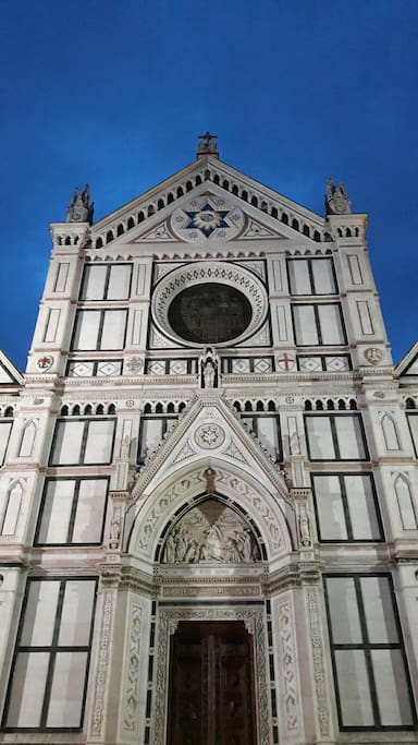L'alba dietro la basilica (the dawn behind Santa Croce)