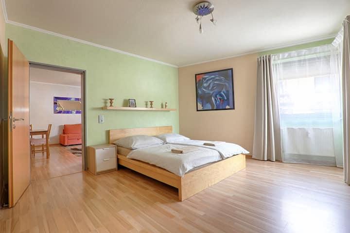 Apartment in Trier Zentrum /55qm/WLAN/Garage Free