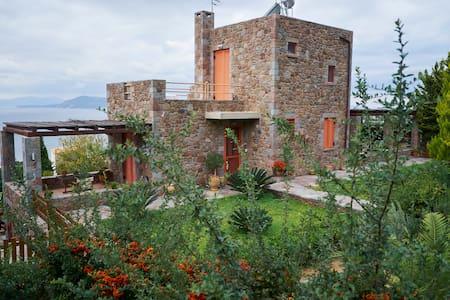 Villa Petra_Luxurious,with amazing view to the sea - Egina