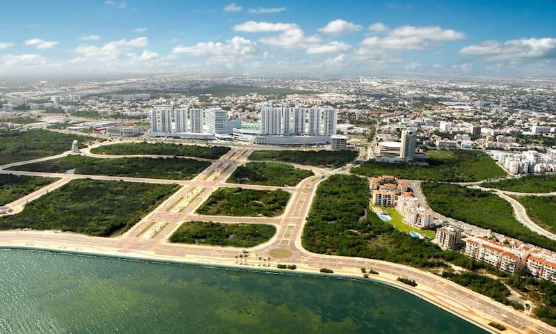 902 Cancun Best Location Malecon - Cancún - Huoneisto