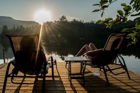 Chalet au bord du lac Goulet - Saint-Mathieu-du-Parc