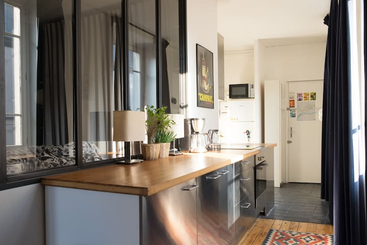 Bel appartement  en hypercentre - Nantes - Apartment