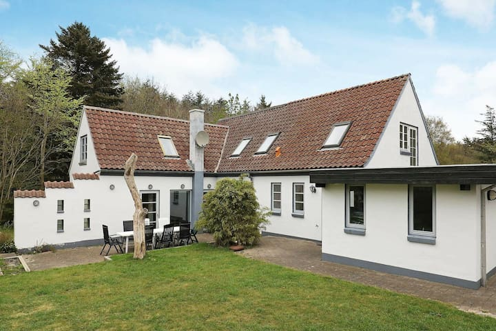 Spacious Holiday Home in Jutland near the Beachside
