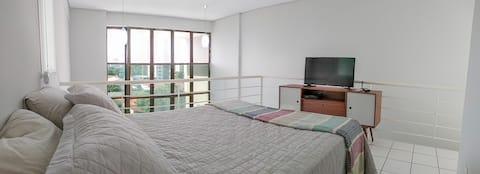 Apartamento Loft Teresina com Garagem privativa
