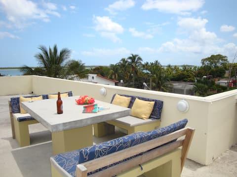 F Superchill rooftop contemplative nature