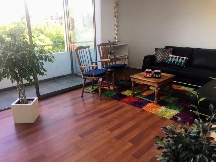 Departamento 2 pisos / Loft gran vista