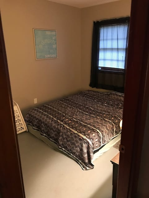 One furnished room with shared bathroom