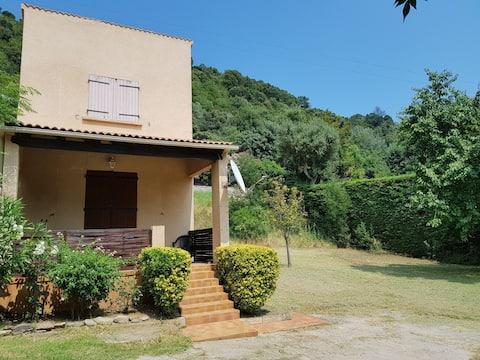 Location mini villa T3 6couchages avec jardin