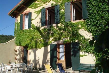 Gite dans exploitation viticole à proximité forêts - Bollène - Villa