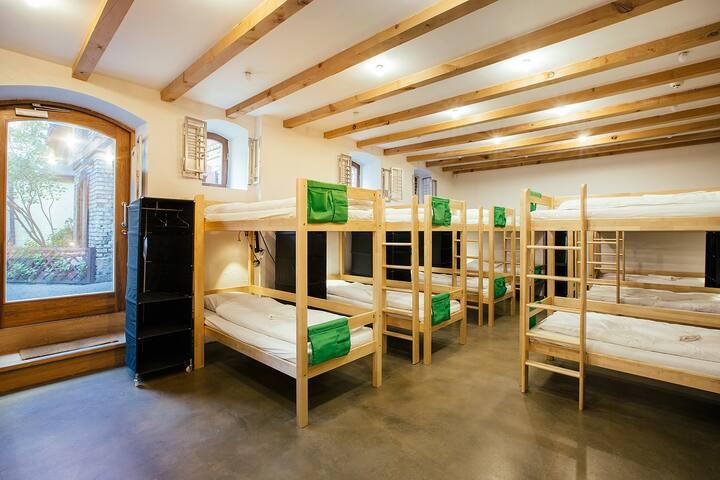 Hostel Riga private STUDIO 14 beds room