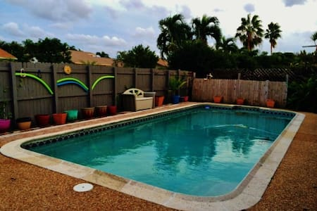 Pool/Hot Tub Home 15 minutes from Beach - Coconut Creek - Haus