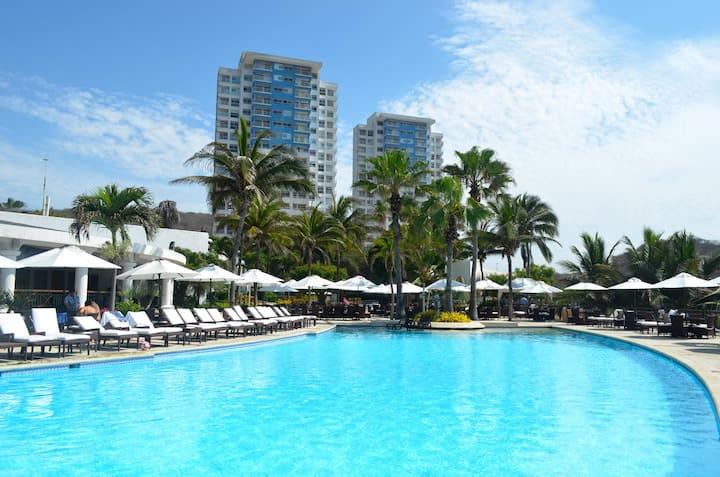 Penthouse Loft en el mejor Resort del Ecuador