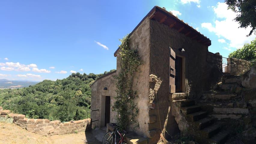 Maison de campagne avec jardin et terrasse - Bomarzo - Haus