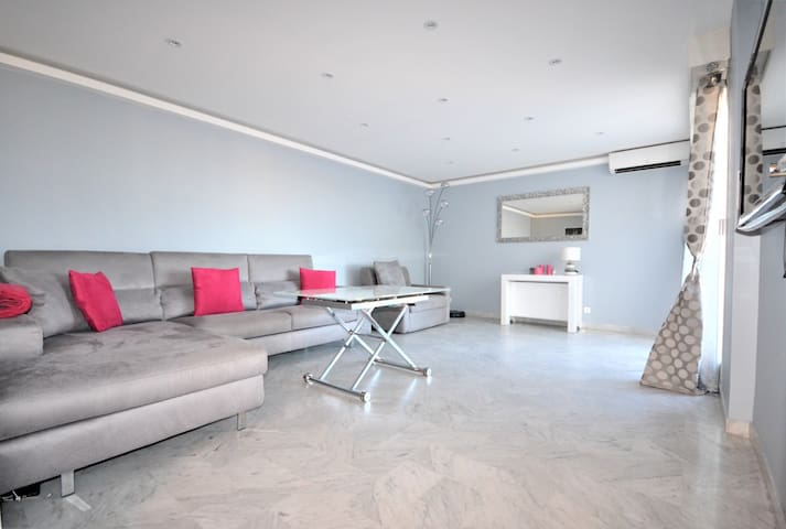 Bel appartement très lumineux