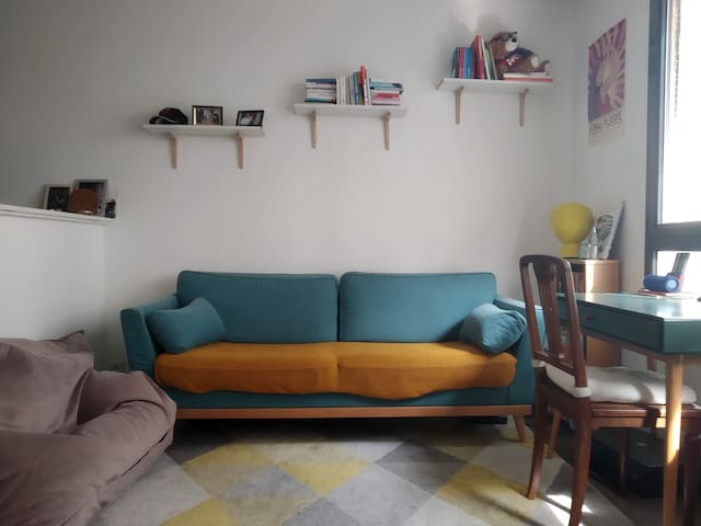 Lovely studio in the center of Paris